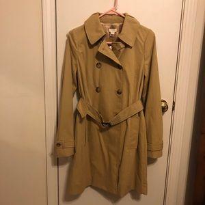 J. Crew trench coat NWT